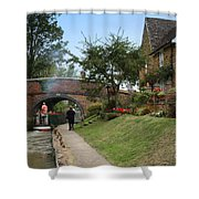 Oxford Canal Shower Curtain