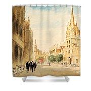 Oxford High Street Shower Curtain