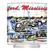 Oxford Mississippi 38655 Shower Curtain