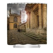Oxford University - History-sheldonian-divinity Shower Curtain