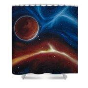 Oxytonon Shower Curtain