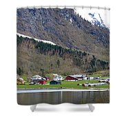 Oye Norway Shower Curtain