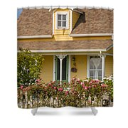 Oysterville Home 8 Shower Curtain
