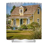 Oysterville Home 9 Shower Curtain