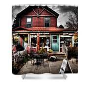 Ozzie's Coffee Bar - Old Forge Ny Shower Curtain