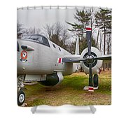 P-2v Neptune Shower Curtain