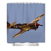 P-40 Shower Curtain