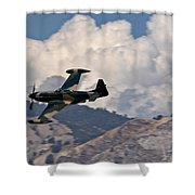 P-51 Patrol Shower Curtain