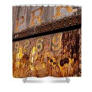 P R R - 9269 Shower Curtain