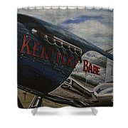P51 Mustang Kentucky Babe Warbird Shower Curtain
