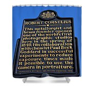 Pa-134 Robert Cornelius Shower Curtain