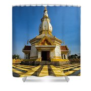 Pa Dong Wai Temple  Shower Curtain