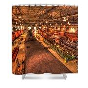 Pa Railroad Museum - 1652 Shower Curtain