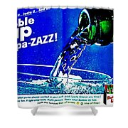 Pa-zazz Shower Curtain
