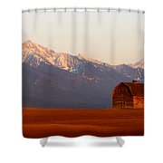 Pablo Barn And Mission Range Shower Curtain