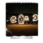 Pac Art Shower Curtain by Ryan Crane