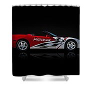 Pace Maker Shower Curtain