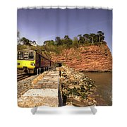 Pacer At Parson's Tunnel Shower Curtain