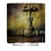 Pacific Airmotive Corp 24 Shower Curtain