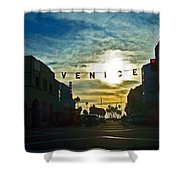 Pacific Ave Shower Curtain