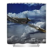 Pacific Battle Shower Curtain
