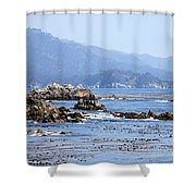 Pacific Blues Shower Curtain