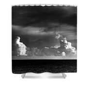 Pacific Clouds Shower Curtain