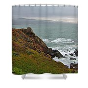 Pacific Coast Colors Shower Curtain