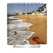 Pacific Coast Of Mexico Shower Curtain