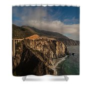 Pacific Coastal Highway Shower Curtain