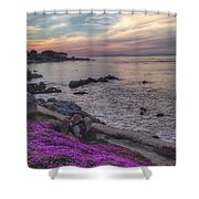Sunset In Pacific Grove Shower Curtain
