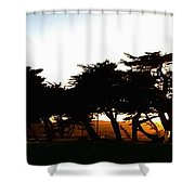 Pacific Grove Golf Links 19902 Shower Curtain