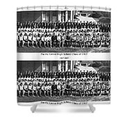 Pacific Grove California  High School  Class Of 1967 Shower Curtain