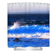 Pacific Grove Surf 19806 Shower Curtain