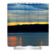 Pacific Northwest Morning Shower Curtain