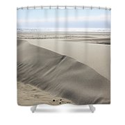 Pacific Ocean Sand Dunes Shower Curtain