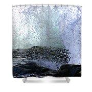 Pacific Ocean Wave Splash Shower Curtain