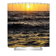 Pacific Reflection Shower Curtain
