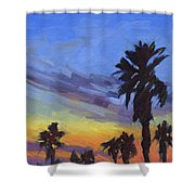 Pacific Sunset 2 Shower Curtain