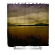 Pack Lake Shower Curtain
