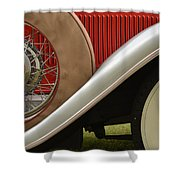 Pack Up Your Worries In A Packard Shower Curtain