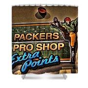 Packer Pro Shop Shower Curtain