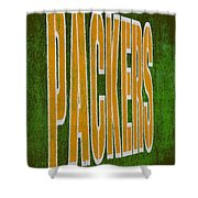 Packers Shower Curtain