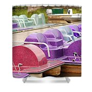 Paddle Boats Shower Curtain