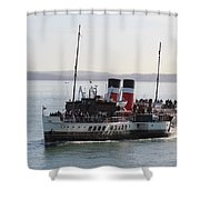 Paddle Steamer Shower Curtain