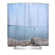 Stand-up Paddle Boarding Shower Curtain
