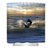 Natutical Jesus Shower Curtain