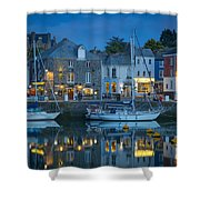 Padstow Twilight Shower Curtain