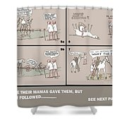 Page 59 Feral Coots Shower Curtain