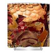 Pagoda Right Shower Curtain